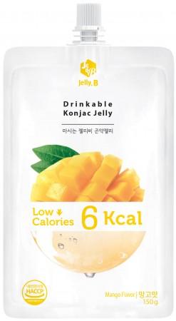 全新生活  赤藻醇糖 Jelly.B 低卡蒟蒻果凍(芒果味)150g/包