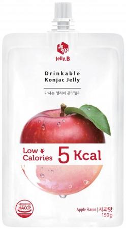 全新生活  赤藻醇糖 Jelly.B 低卡蒟蒻果凍(蘋果味) 150g/包