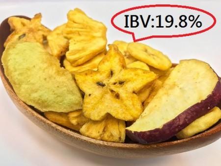 愛呷素 綜合水果脆片 (全素) 100克/包 (IBV:0.71)