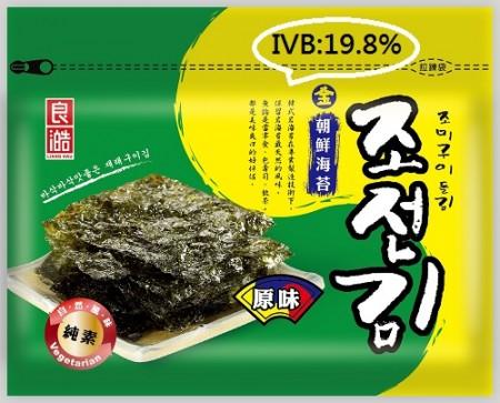 【無添加】  金朝鮮海苔精選-原味(全素) 36克/包(IBV:0.55)【89元/起】