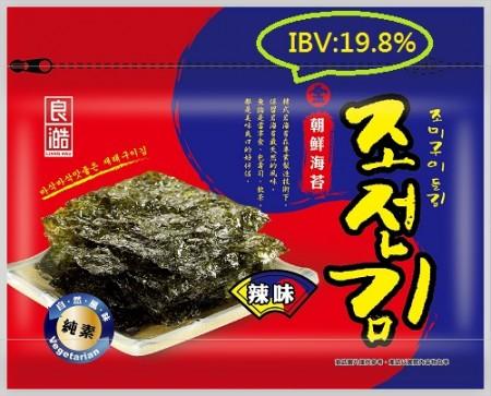【無添加】   金朝鮮海苔-精選辣味(全素) 36克/包 (IBV:0.55)【89元/起】