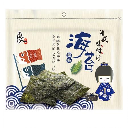 日式嚴選海苔-原味(全素)  31.2克/包【99元/起】 (IBV:0.61)