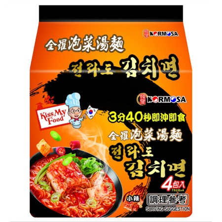 KORMOSA全羅泡菜湯麵  4入/袋   292G