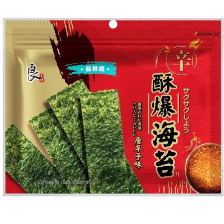 酥爆海苔-唐辛子口味 36克/包