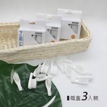 寶淨-替換牙刷刷頭-軟毛迷你刷頭(兒童適用)(3入裝)