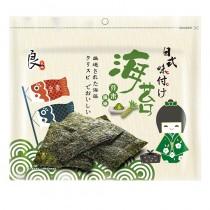 日式嚴選海苔-芥末口味(全素)  28.6克/包【100元/起】 (IBV:0.61)