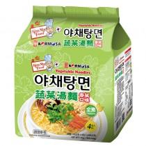 韓國 PALDO KORMOSA 蔬菜拉麵-香菜口味 【4包/一袋】(素食)