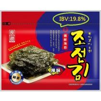 月銷售5萬包   【無添加】金朝鮮海苔-精選辣味(全素) 36克/20包組   (IBV:0.55)【85元/起】