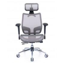 恰恰人體工學網椅旗艦版 - 冰礦銀