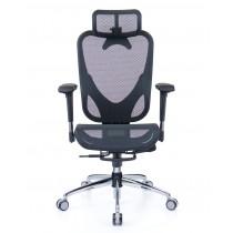華爾滋人體工學網椅 精裝版 - 酷黑
