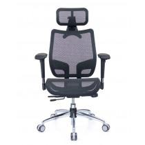 恰恰人體工學網椅旗艦版 - 酷黑
