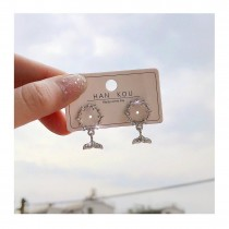 新品 韓國S925 氣質小巧人魚耳環