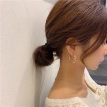 新品 韓國925雙圈大耳環