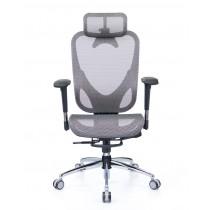華爾滋人體工學網椅 精裝版 - 冰礦銀