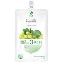 全新生活  赤藻醇糖 Jelly. B低卡蒟蒻果凍(青葡萄味)150g/包